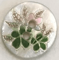 Flowers Shell Buttons